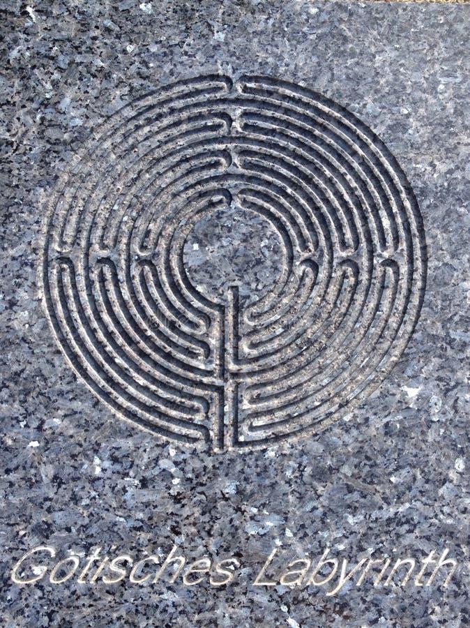 Labyrinth royalty free stock photos