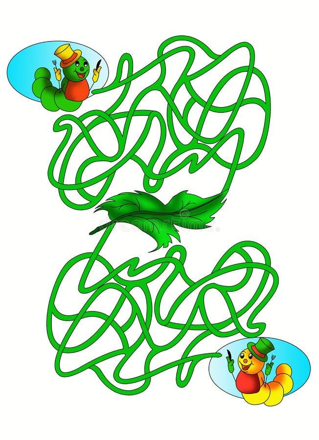 Labyrinthe 15 illustration stock