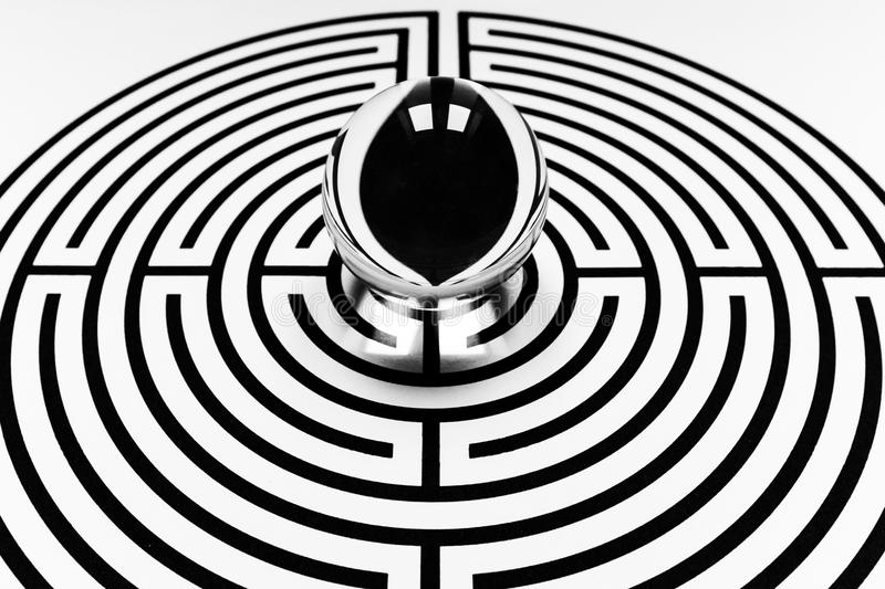 Labyrinthe image stock