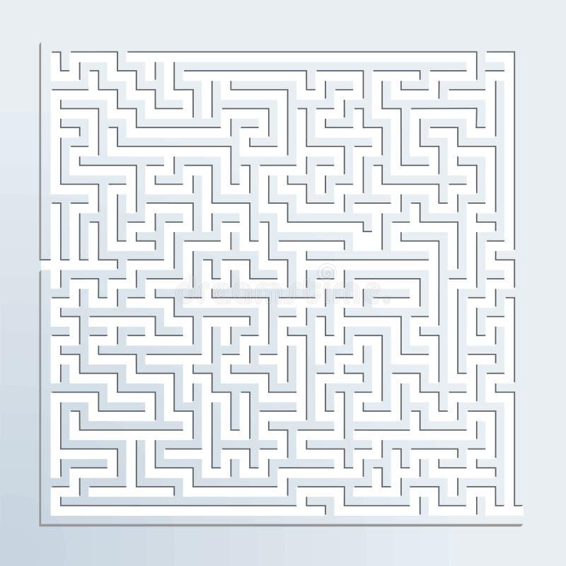 labyrinthe 3d illustration stock