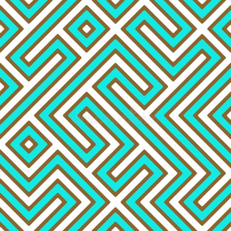 Labyrinthe géométrique illustration de vecteur