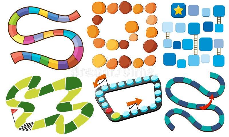 labyrinthes illustration de vecteur