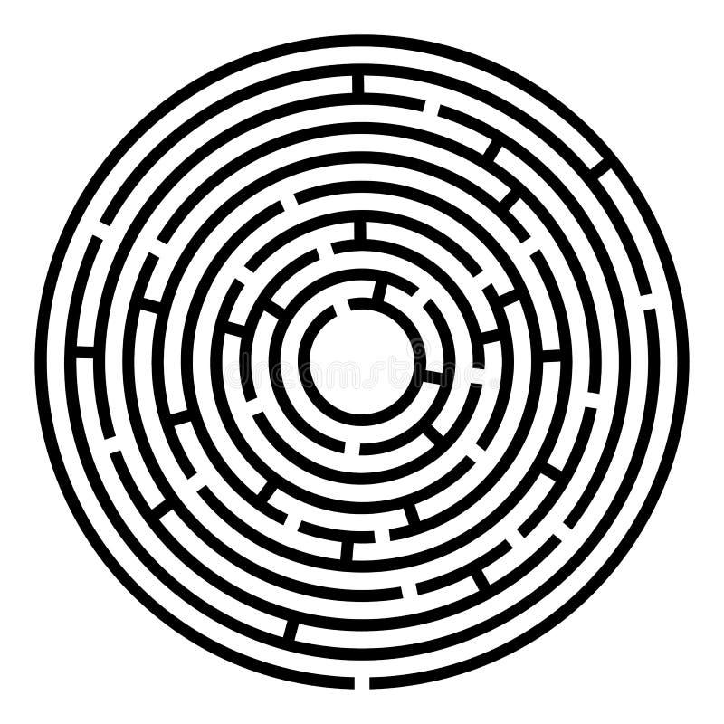Labyrintlabyrint royalty-vrije illustratie