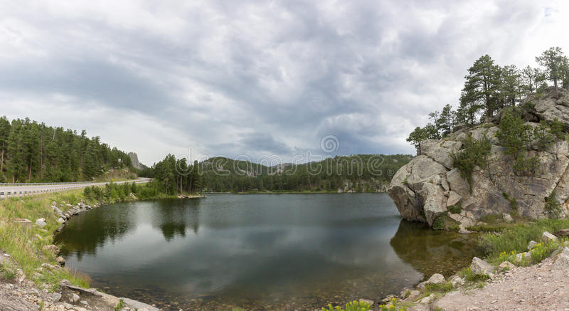 Lac в Южной Дакоте, США стоковые фотографии rf