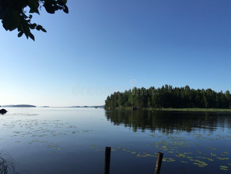 Download Lac photo stock. Image du été, finland - 76082360