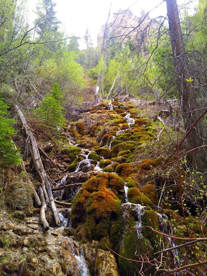 Lac accrochant, le Colorado photo stock