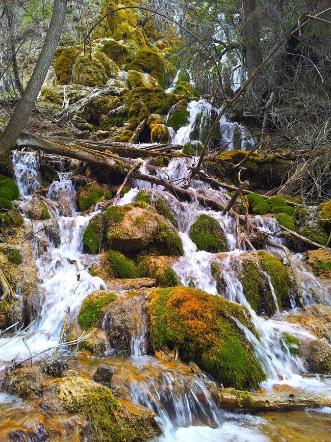 Lac accrochant, le Colorado photos libres de droits