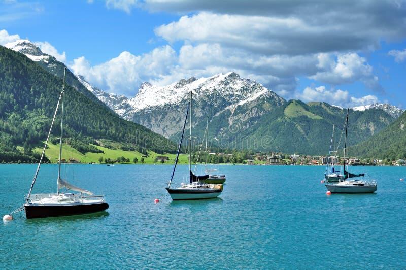 Lac Achensee, le Tirol, Autriche photographie stock libre de droits