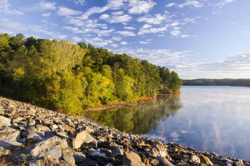 Lac Allatoona photographie stock