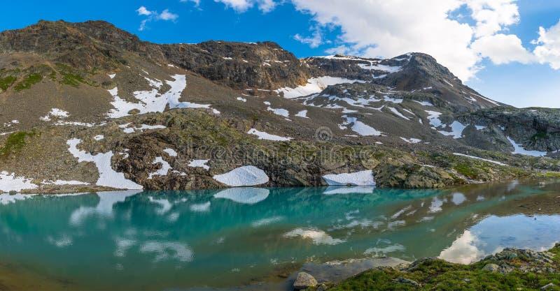 Lac alpestre image stock