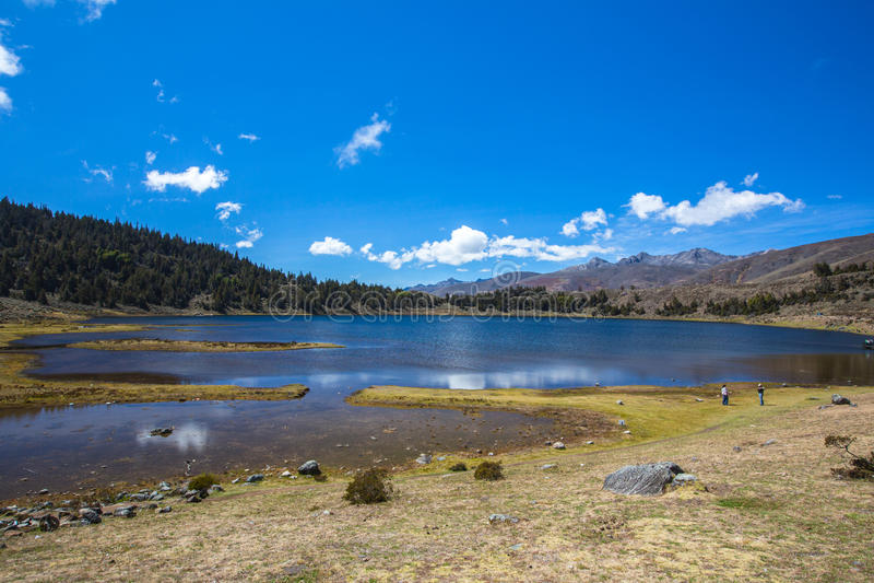 Lac alpestre Merida Venezuela image libre de droits
