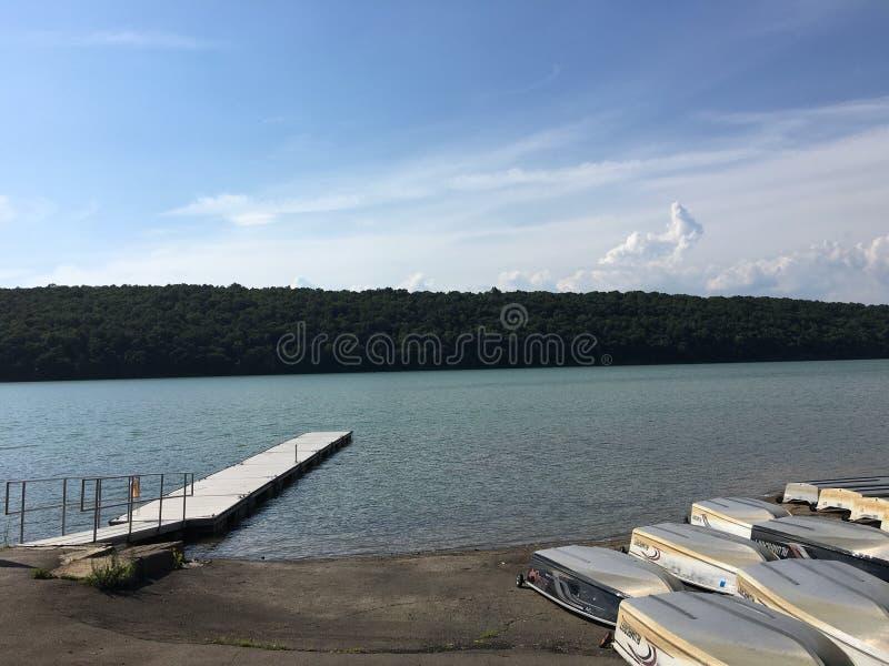 Lac américain photo stock
