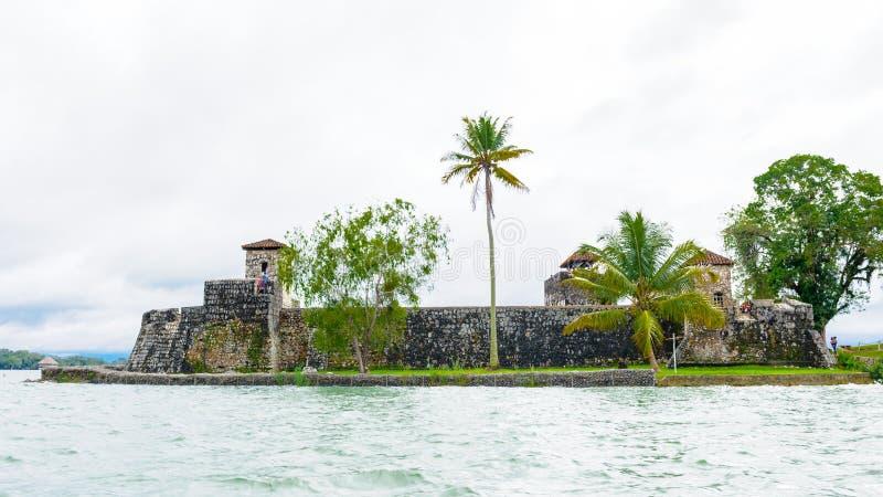 Lac Amatitlan, Guatemala images libres de droits