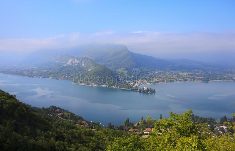 Lac Annecy photo libre de droits