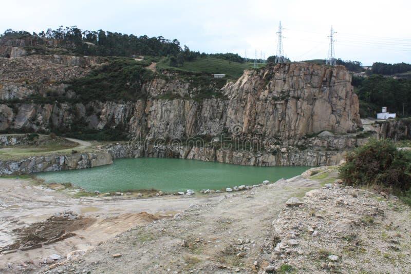 Lac artificiel photos libres de droits