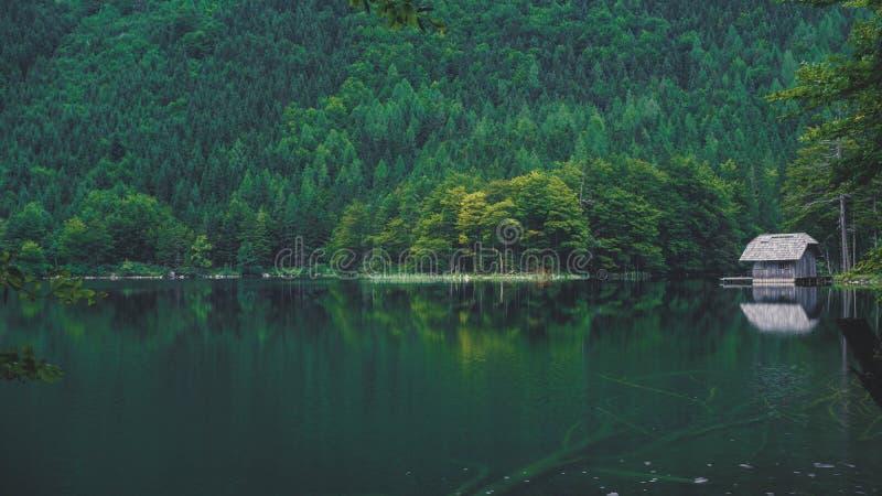 Lac autrichien - été image libre de droits
