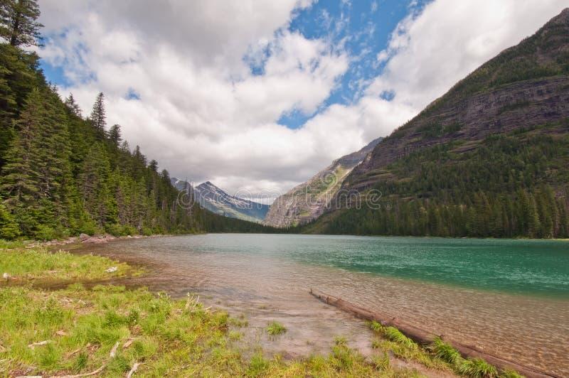 Lac avalanche photographie stock libre de droits