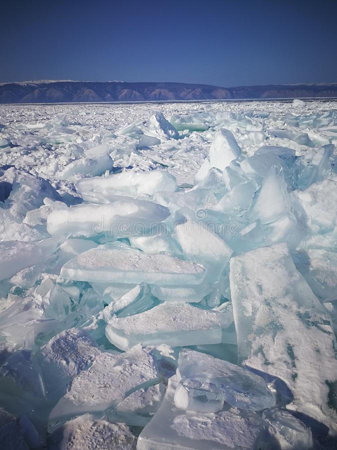Lac Baikal, Russie photographie stock