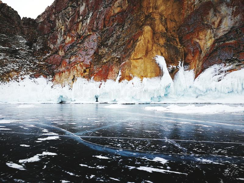 Lac Baikal, Russie image stock