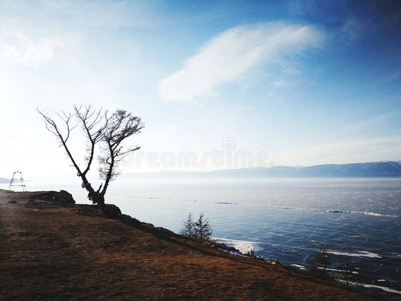 Lac Baikal, Russie images stock