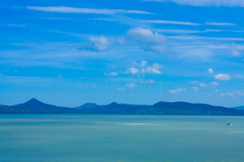 Lac Balaton photo libre de droits