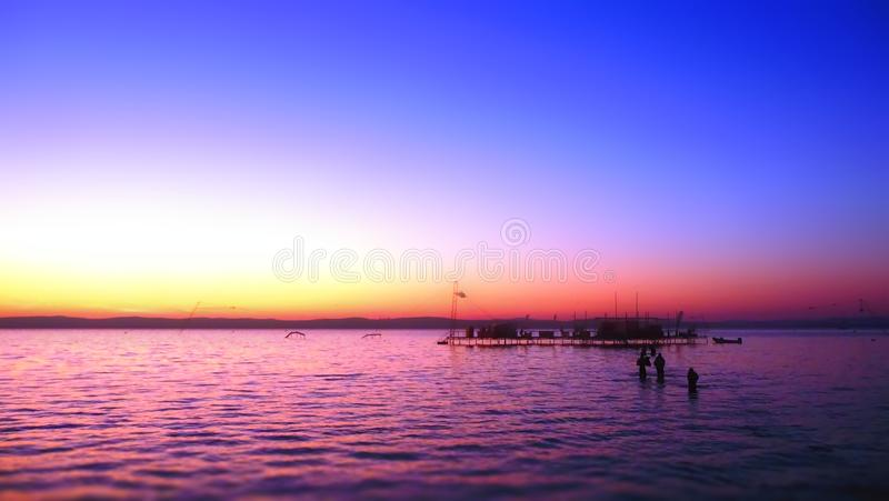 Lac Balaton photographie stock