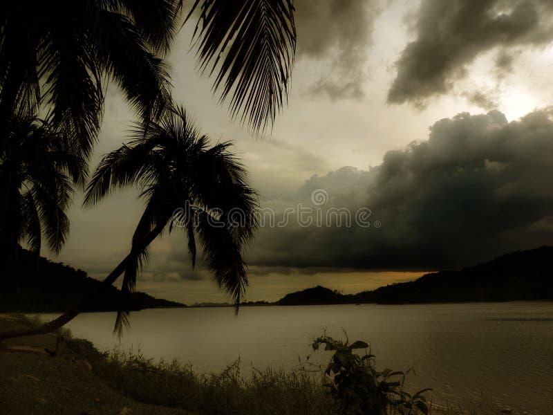 Lac Batu photo libre de droits