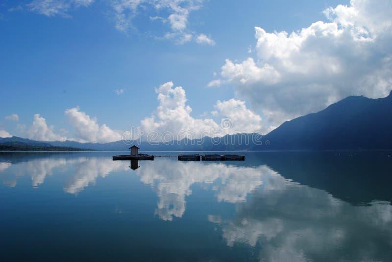 Lac Batur, Bali images stock