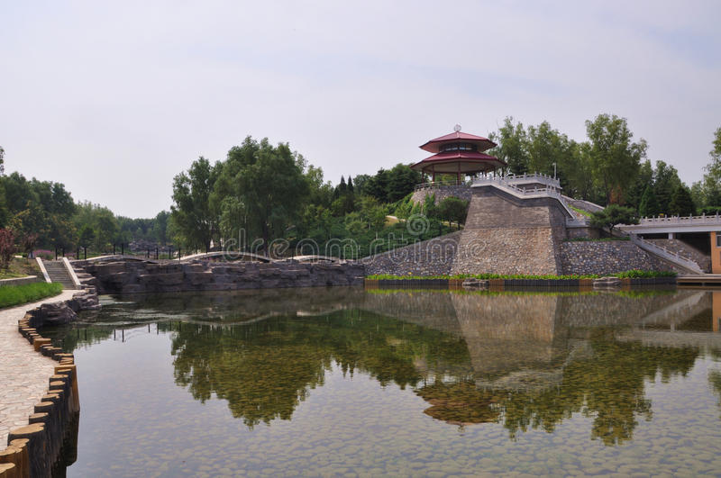 Lac beijing Qinglong images stock