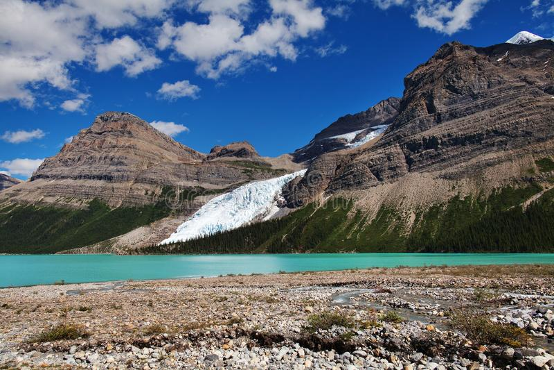 Lac berg photo stock