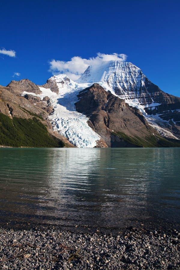 Lac berg image libre de droits