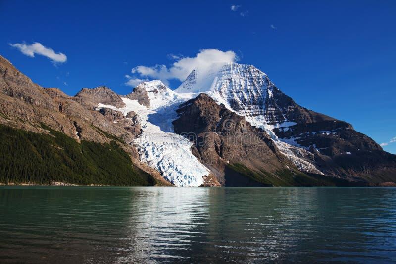 Lac berg photo libre de droits