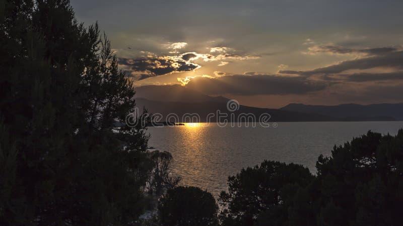Lac Beysehir, konya images libres de droits