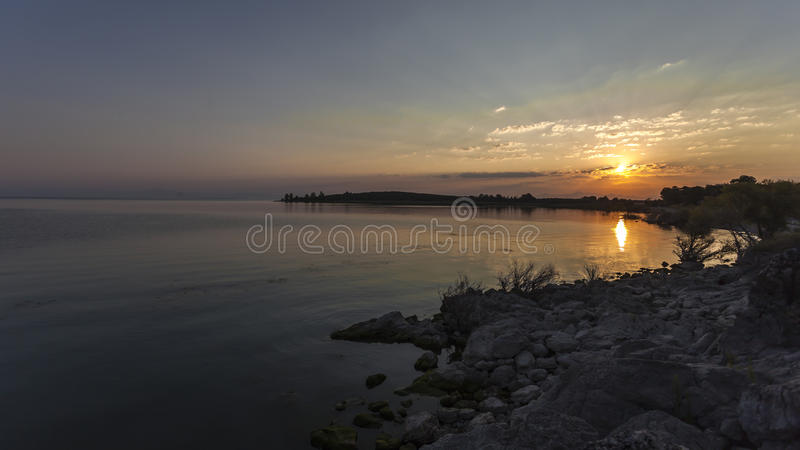 Lac Beysehir, konya photo libre de droits