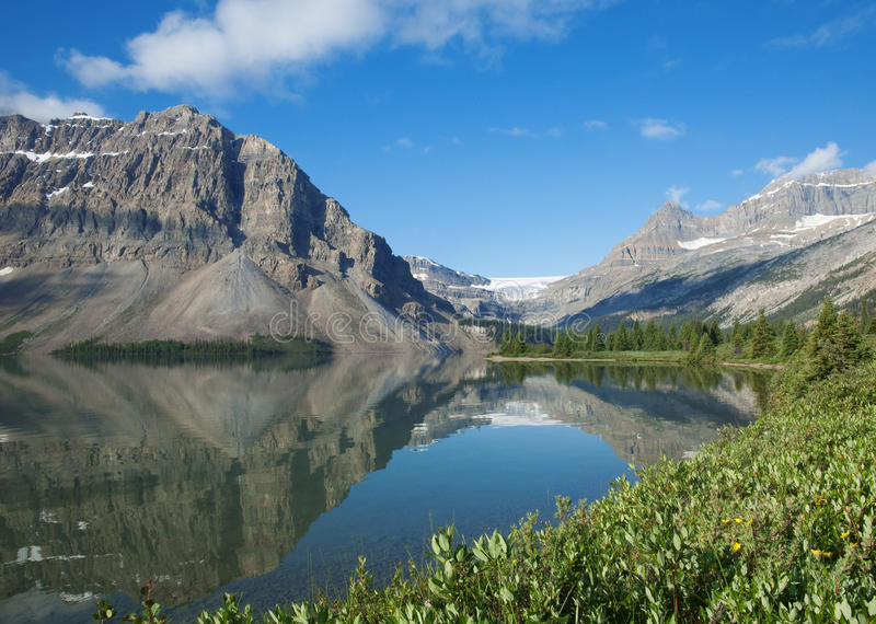 Lac bow image libre de droits