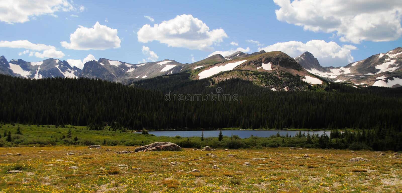 Lac Brainard - le Colorado photo stock