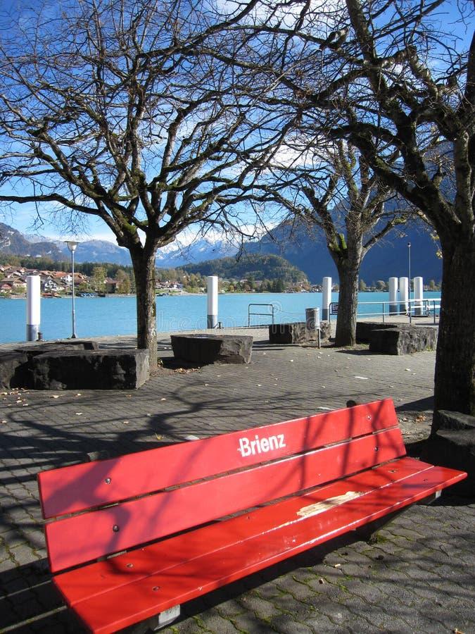 Lac Brienz photographie stock libre de droits