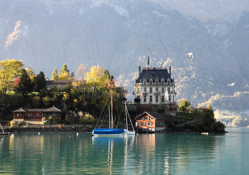 Lac Brienz, Suisse images stock
