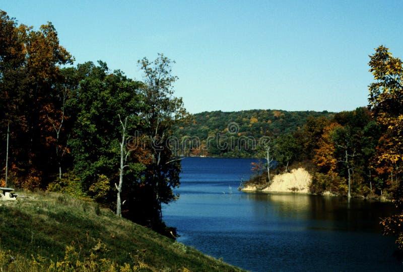 Lac Brookville Indiana Brookville photographie stock