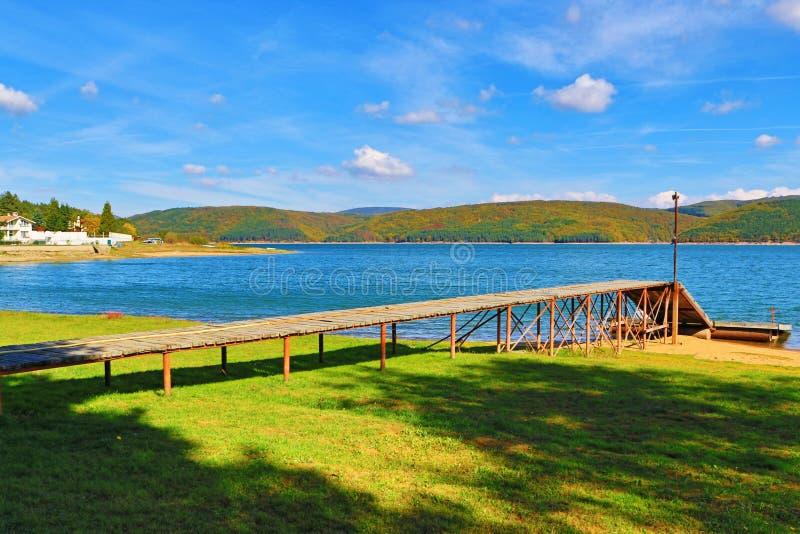 Lac Bulgarie Iskar photo libre de droits