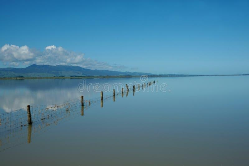 Lac calme. images libres de droits