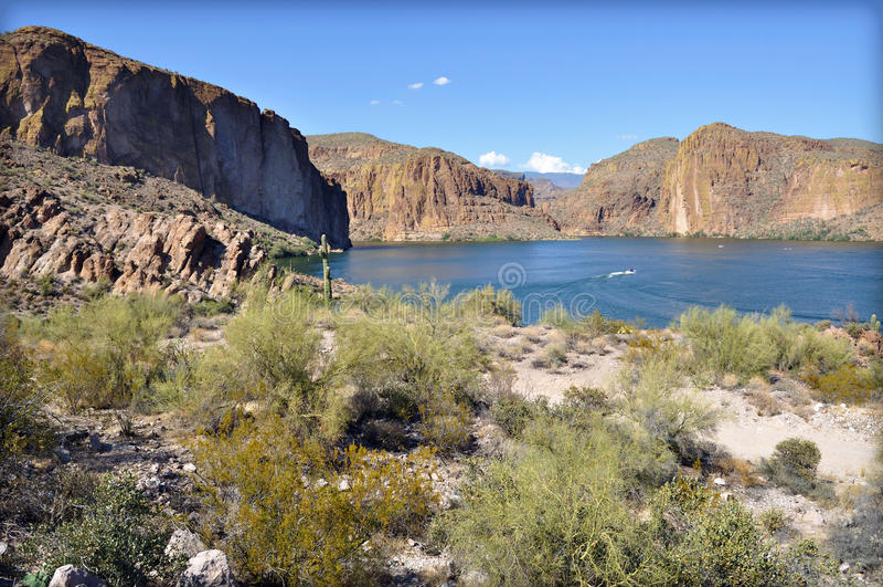 Lac canyon, Arizona photo libre de droits