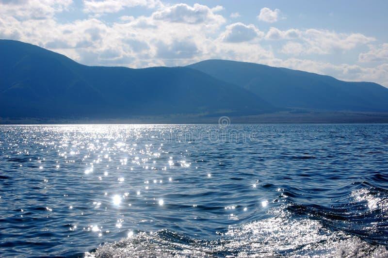 Lac Chagytay photographie stock libre de droits