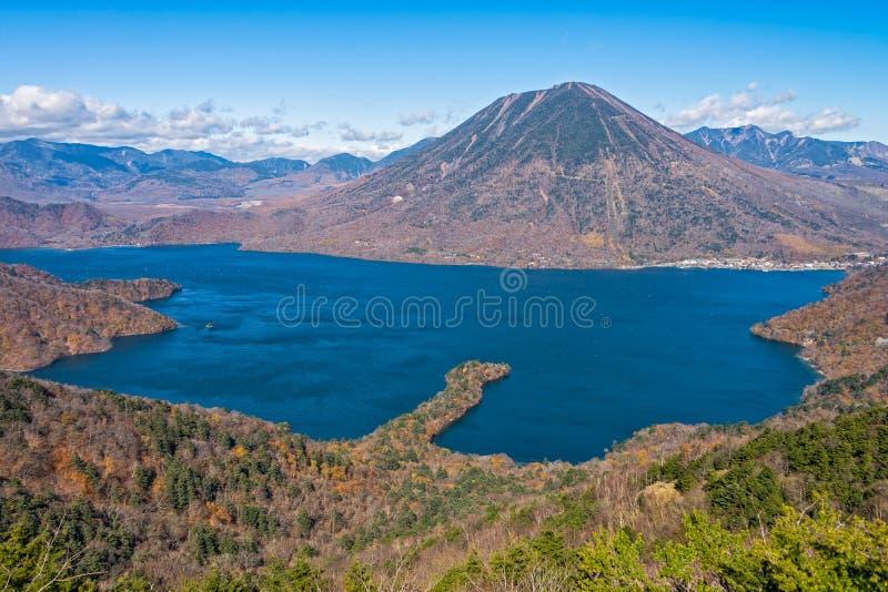 Lac Chuzenji à Nikko, Japon photo stock
