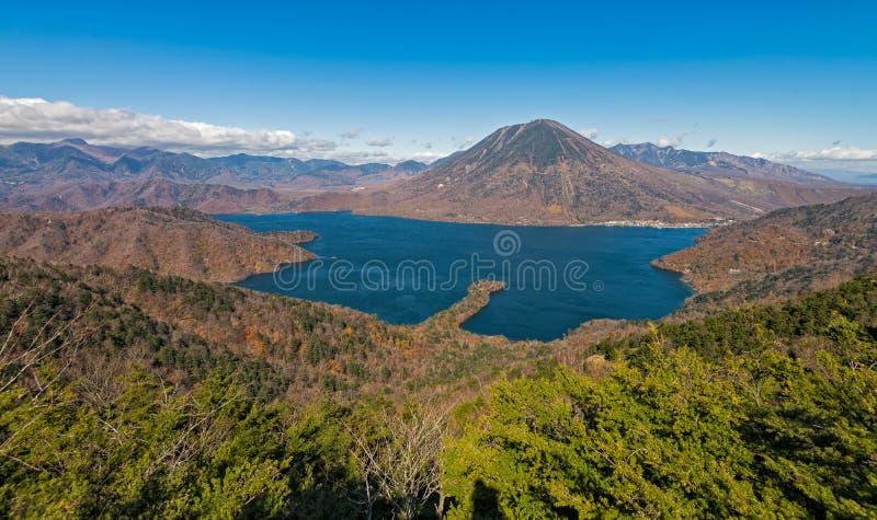 Lac Chuzenji à Nikko, Japon image libre de droits
