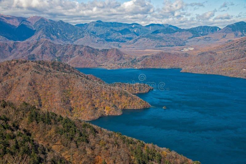 Lac Chuzenji à Nikko, Japon image stock