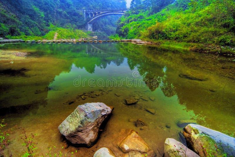 Download Lac clair water photo stock. Image du chinois, réflexion - 4489346