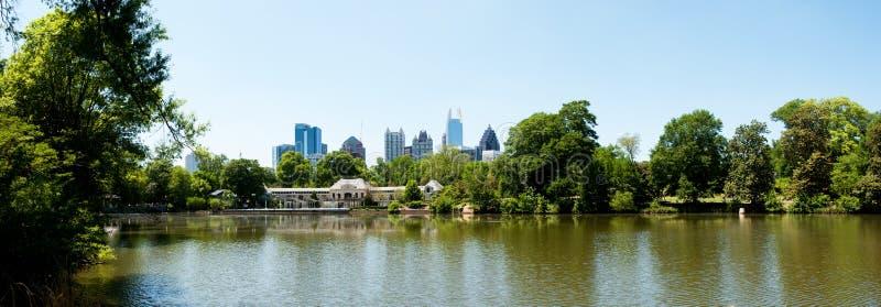 Lac Clara Meer en parc Atlanta de Piémont images stock