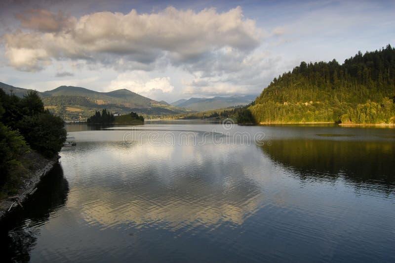 Lac Colibita photographie stock