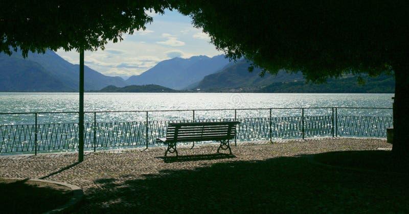 Lac Como image stock